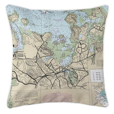 Ruger Hingham, MA Throw Pillow