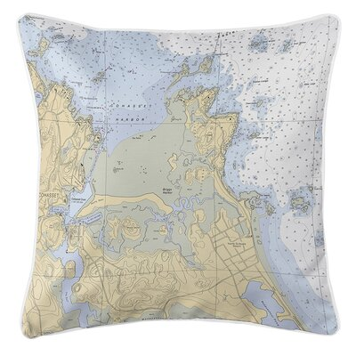 Ruger Cohasset Harbor, MA Throw Pillow