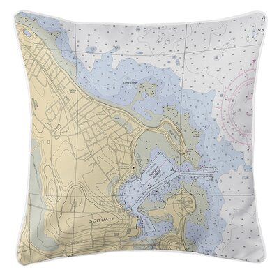 Ruger Scituate Harbor, MA Throw Pillow