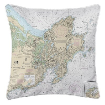 Ruger Cape Ann, MA Throw Pillow