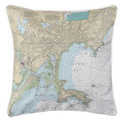 Ruger Lynn, Nahant, MA Throw Pillow