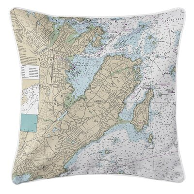 Ruger Marblehead, Salem, MA Throw Pillow