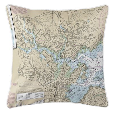 Ruger Salem, Peabody, Beverly, MA Throw Pillow