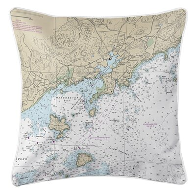 Ruger Manchester, MA Throw Pillow