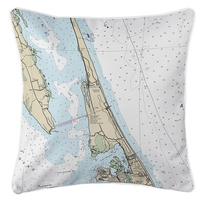 Ruger Duck, Southern Shores, Kitty Hawk, NC Throw Pillow