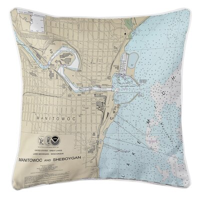 Ruger Manitowoc, WI Throw Pillow