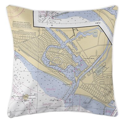 Ruger Naples Island, CA Throw Pillow