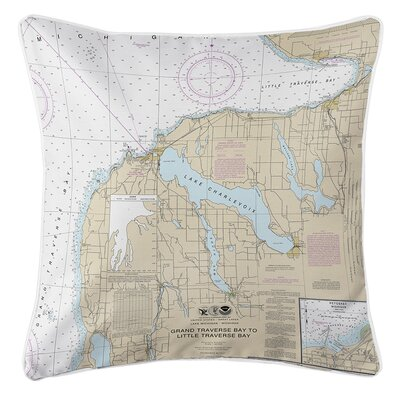 Ruger Charlevoix, MI Throw Pillow