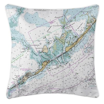 Ruger Matecumbe Key, FL Throw Pillow