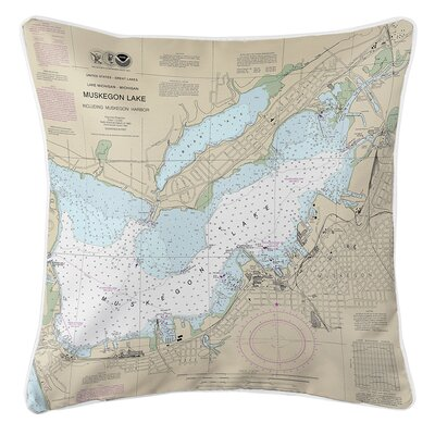 Ruger Muskegon, MI Throw Pillow