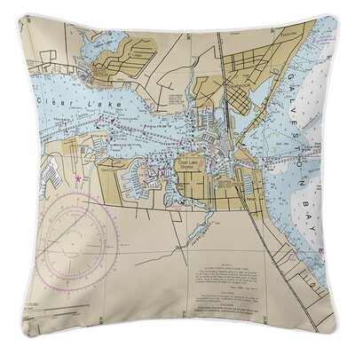 Ruger Seabrook, TX Throw Pillow