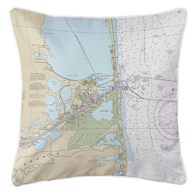Ruger Port Isabel, South Padre Island, TX Throw Pillow