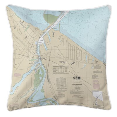 Ruger Huron Harbor, OH Throw Pillow