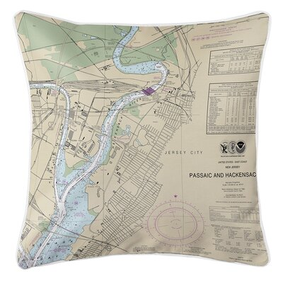 Ruger Jersey City, NJ Throw Pillow