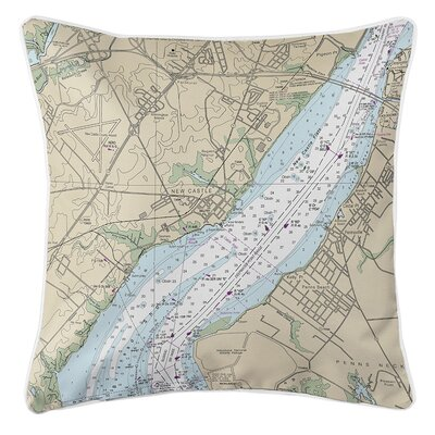 Ruger New Castle, DE Throw Pillow