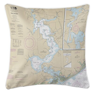 Ruger Jacksonville, New River, NC Throw Pillow