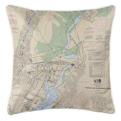 Ruger Newark, Jersey City, NJ Throw Pillow