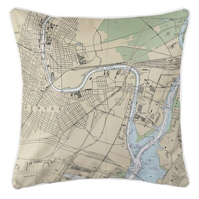 Ruger Newark, NJ Throw Pillow