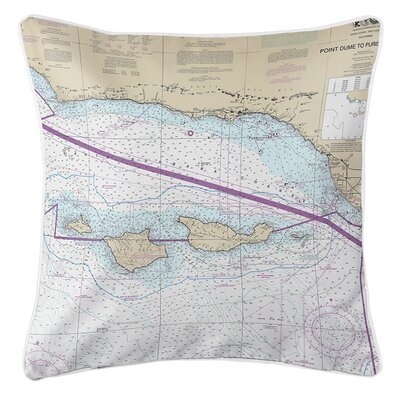 Ruger Channel Islands, CA Throw Pillow