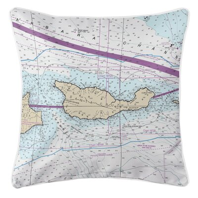 Ruger Santa Cruz Island, CA Throw Pillow