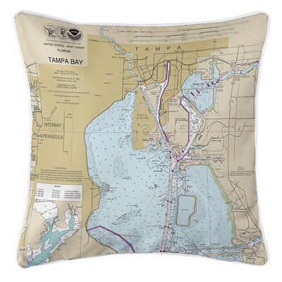 Ruger Harbour Island Tampa, FL Throw Pillow