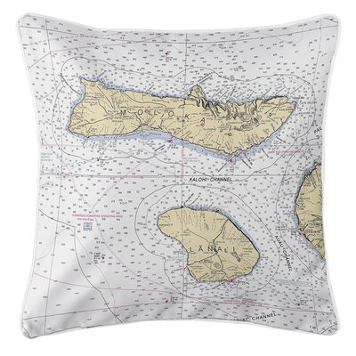 Ruger Molokai, Lanai, HI Throw Pillow