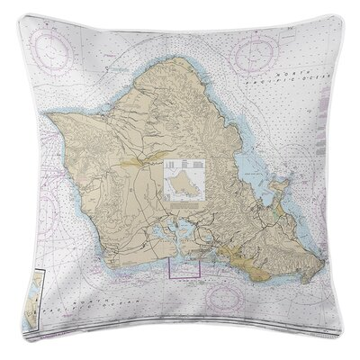 Ruger Oahu, HI Throw Pillow