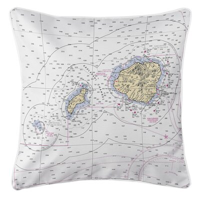 Ruger Hawaiian Northern Islands Throw Pillow