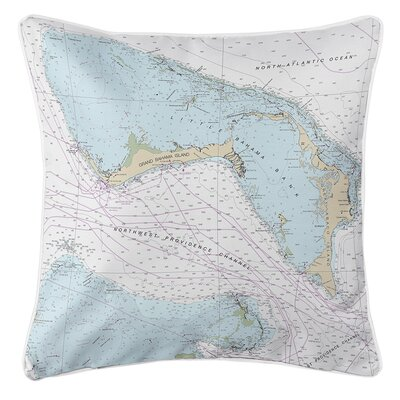 Ellisburg Grand Bahama, Abaco, Bahamas Throw Pillow