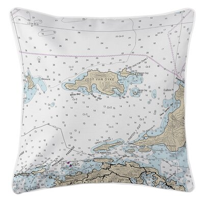Ellisburg Jost Van Dyke, BVI Throw Pillow