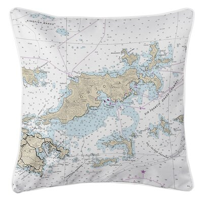 Ellisburg Tortola, BVI Throw Pillow