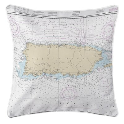 Ellisburg Puerto Rico Throw Pillow
