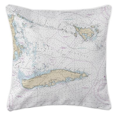 Ellisburg Vieques, Culebra, PR Throw Pillow