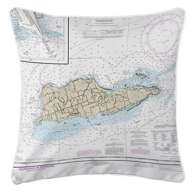 Ellisburg St. Croix, USVI Throw Pillow
