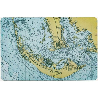 Ellisburg Sanibel Island, FL Indoor Kitchen Mat
