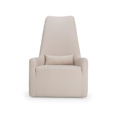 Merced High Back Swivel Armchair Body Fabric: Orchard Pina Colada