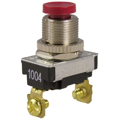Push Button Switch Color: Red