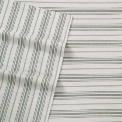 Willshire Hill 100% Cotton Sheet Set Size: Queen, Color: Gray