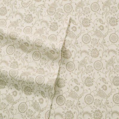 Murdock 400 Thread Count Sheet Set Size: King, Color: Taupe