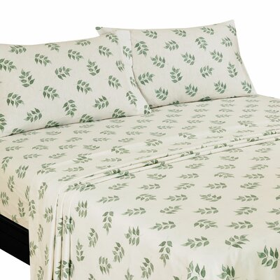 Willshire Hill 100% Cotton Fannel Sheet Set Size: King