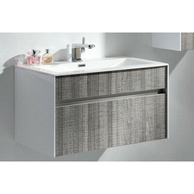 Brockman 32 Single Bathroom Vanity Set Base Finish: Ash Gray