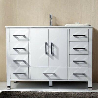 Anziano 48 Single Bathroom Vanity Set