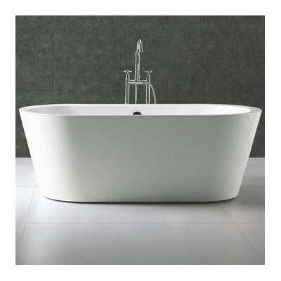 Ovale 66.25 x 31.63 Soaking Bathtub
