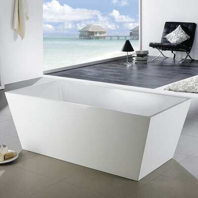 Squadra 59.25 x 31.25 Soaking Bathtub