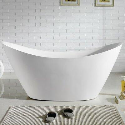 Luna 68 x 28.75 Soaking Bathtub