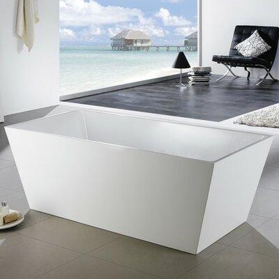 Squadra 67 x 31.5 Soaking Bathtub