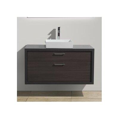 Tucci 42 Modern Bathroom Vanity Base Finish: Dark Gray