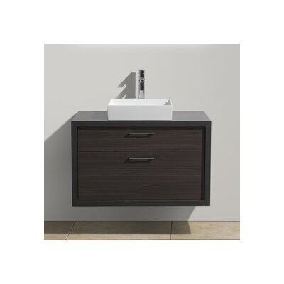 Tucci 36 Modern Bathroom Vanity Base Finish: Dark Gray