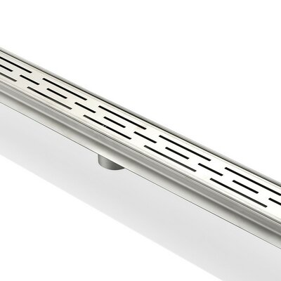 Linear 2 Linear Shower Drain