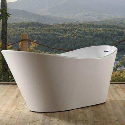 Lavello 67 x 32  Freestanding Soaking Bathtub